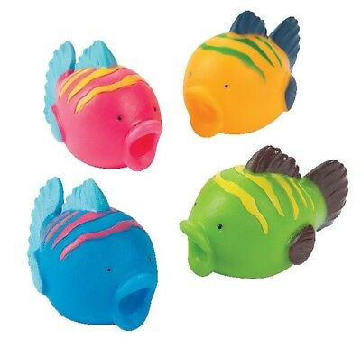 Colorful Fish Squirts Bath Toy (1 Dozen)
