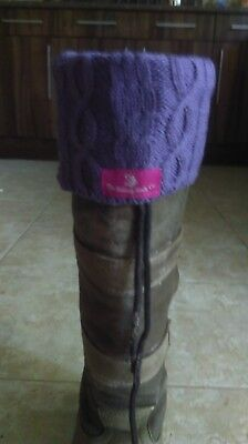 the riding sock co boot topper