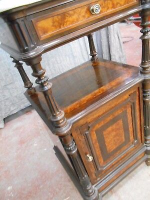 Antique French Marble Top Pot Cupboard Outstanding Quality