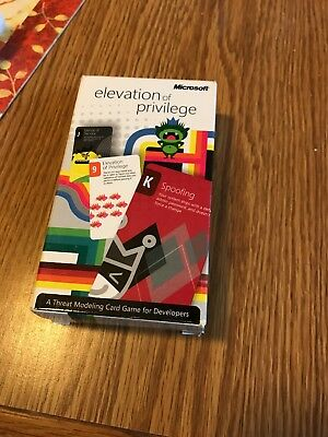 """Threat Modeling, Elevation of Privilege Card Game, """"STRIDE"""", New high quality"""