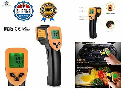 BEST NonContact Temperature Gun Digital Temp Meter Infrared IR Laser Thermometer