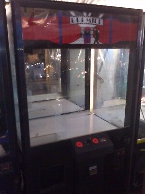 Premier Crane Machine  Arcade Coin Op  For parts or repair  Play room man cave