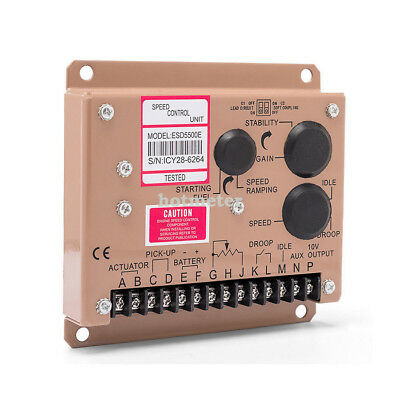 Electronic Engine Speed Governor Controller ESD5500E GAC