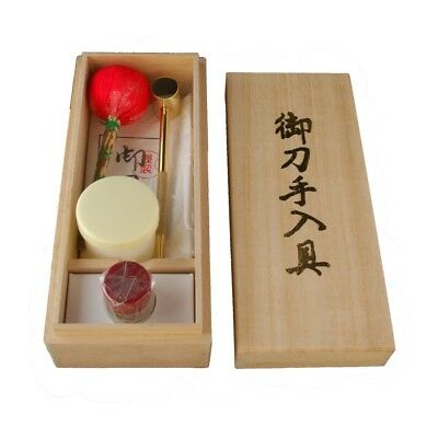 Exported from Japan.Japanese sword.Imitation Luxury care tool.A paulownia box.