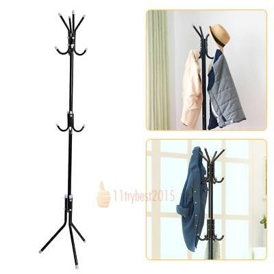 Tree style Metal Coat Rack Stand Clothes Hat Bag Organizer bedroom/living room
