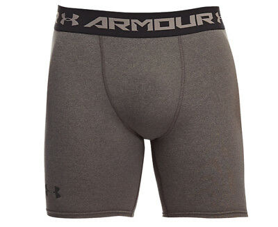 Under Armour HeatGear Armour Compression Short - Carbon Heather