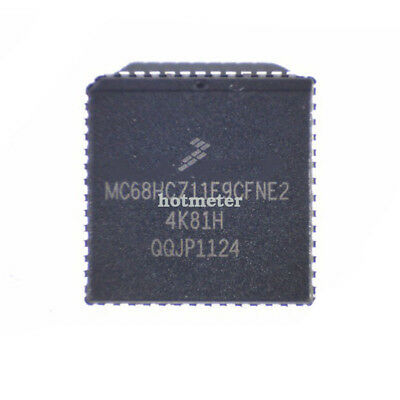 10 Pcs MC68HC711E9CFNE2 Encapsulation:PLCC-52 Microcontrollers