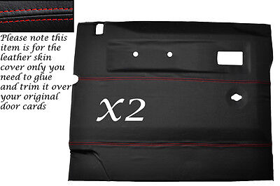 Auto & Motorrad: Teile black stitch FITS AUDI A3 1996-2004 2X FRONT SEAT BELT STALK LEATHER COVERS Auto-Tuning & -Styling