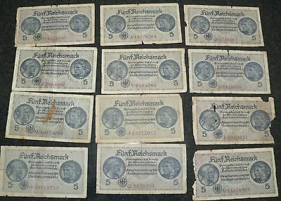 1 X  OLD German bank note ww1 and earlier