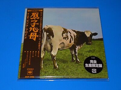 2017 Japan Pink Floyd Atom Heart Mother Mini Lp Cd