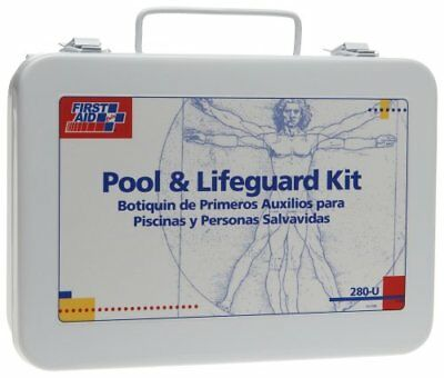 First Aid Only 280-U/FAO 16 Unit Pool Lifeguard First Aid Kit, Metal Case