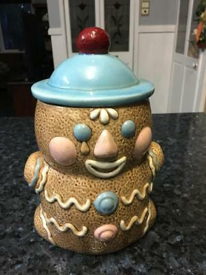 Vintage Gingerbread Man Cookie Jar - Made In Japan  - Very Collectable - Rare