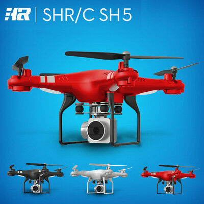 HR SH5HD 1080P HD Camera Quadcopter WiFi FPV Live Helicopter Hover RC Drone A