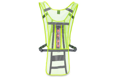 Nathan LED Cycling Vest - Hi-Viz - Yellow
