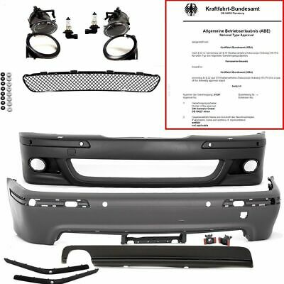 BMW E39 Limousine Stoßstange SRA PDC KOMPLETT Bodykit Front Heck+ABE*+ANLEITUNG