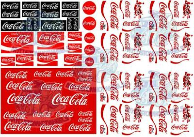 Coca Cola Decal Pack | Coke Waterslide Decals in all popular scales up to 1:18