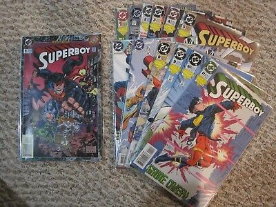 Superboy (Vol. 3) issues 0-11 + Annual #1, EXCELLENT condition!!!