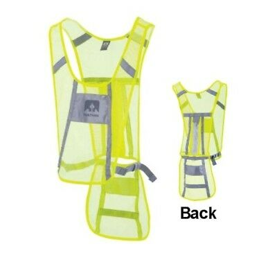 Nathan Cycling Vest - Hi Vis - Yellow