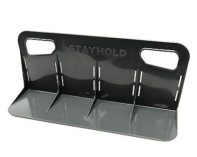 STAYHOLD CLASSIC Grey Car Boot Tidy & Organiser Large Single with Velcro SH002