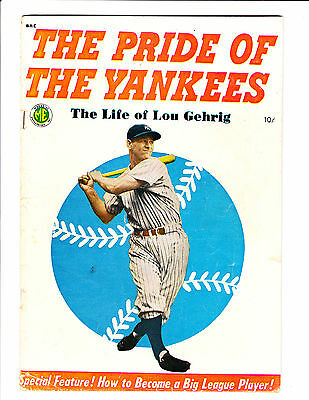 "The Pride Of The Yankees      : 1949 :     : ""The Life Of Lou Gehrig"" :"