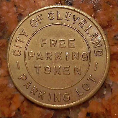 City Of Cleveland - Free Parking Token - #650