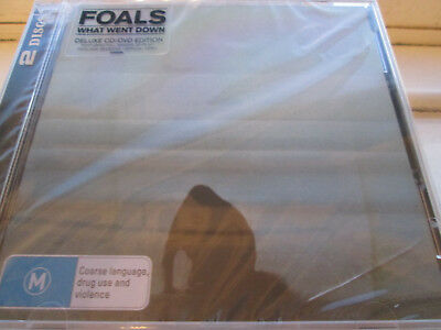 Foals - What Went Down (2015)  Deluxe CD/DVD Edition  NEW/SEALED  SPEEDYPOST