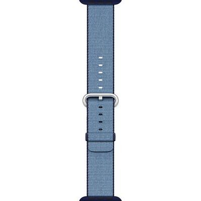 Apple Watch Woven Nylon Band 42mm Navy Tahoe Blue MP232AM/A