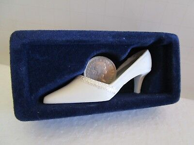 Bridal LUCKY SIXPENCE Shoe Silver Coin Wedding Custom