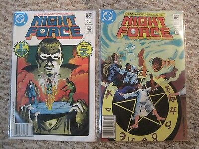 Night Force (volume 1) issues 1-14, complete series, EXCELLENT condition!!!