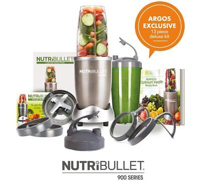NutriBullet Pro 900 Deluxe Breaking Down Stems Seeds And Skins At An Incredible