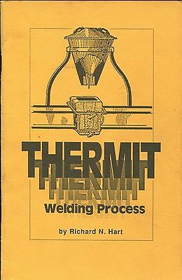 Book - Thermit Welding Process - Weld Welder Metalworking Metal
