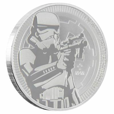 2018 Star Wars Stormtrooper 1 oz Silver Niue Coin | Now Shipping!