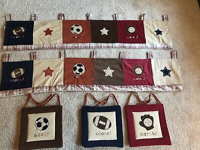 """NoJo """"My Little MVP"""" 2 Valences And 3 Wall Hangings"""