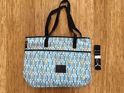 Godiva Zippered Tote Bag New With Shoulder Straps