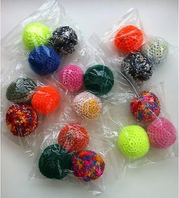 Pack Of 3 Wool Balls - Mix Colours (Sold For Cats Protection)