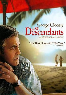 The Descendants dvd new, free shipping