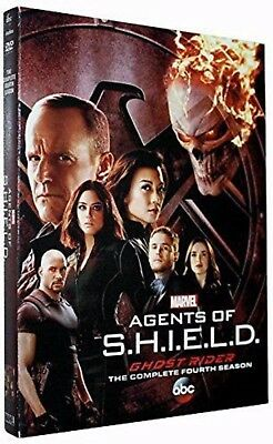 Agents Of S.H.I.E.L.D Shield: Season 4 * Brand New & Sealed * Free UK Postage