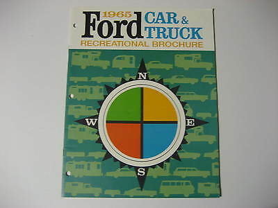 1965 Ford Car & Truck Recreational Brochure