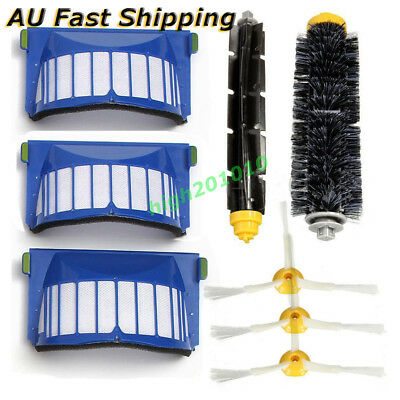 8Pcs Cleaner Replacement Parts For iRobot Roomba 600 Series 620 630 650 Brush