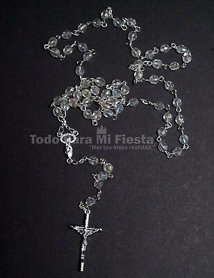 Rosary Jesus Crucifix Cross Rosary Catholic Rosario Jesus Cruz Bautizo Communion