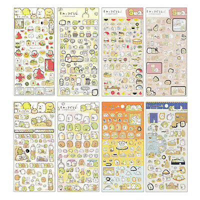 New 5pcs/lot Cartoon Diary Decor Stickers DIY Scrapbook Stationery Sticker Gifts