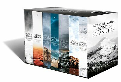 A Song of ice and fire - A Game of thrones box set (7 books box set) (FAST SHIP)