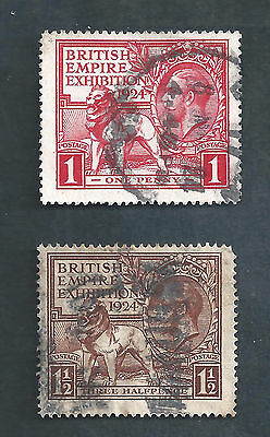 Great Britain Scotts  # 185 & 186 used