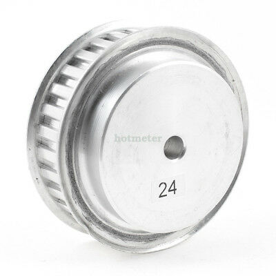 Silver Tone Aluminum Alloy L Type 30 Teeth 10mm Pilot Bore Timing Pulley 98x38mm