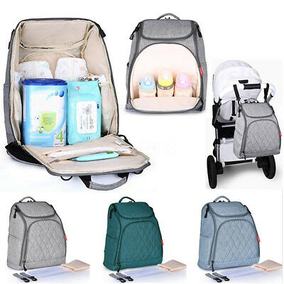 Mummy Maternity Nappy Baby Diaper Bag Large Capacity Travel Handbag Backpack New