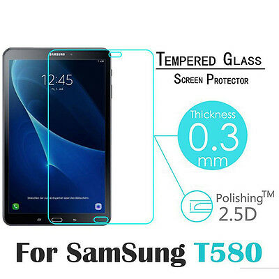 Tempered Glass Screen Protector Film Cover for Samsung Galaxy Tab A T580 10.1''