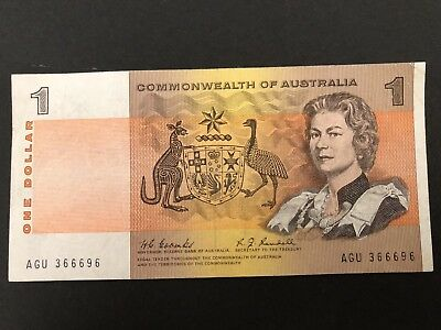 1967 COOMBS/RANDALL $1 Note