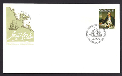 Canada    # 763     CAPTAIN JAMES COOK     New 1978 Unaddressed