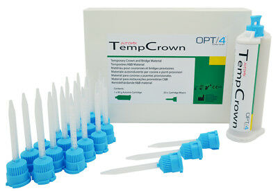 Temporary Crown Automix Dental Filling Bridge Material Caps Self-Curing Crowns
