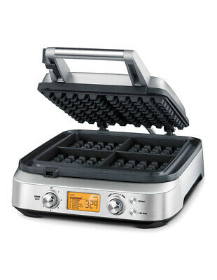 NEW Breville the Smart Waffle Maker BWM640BSS Grey